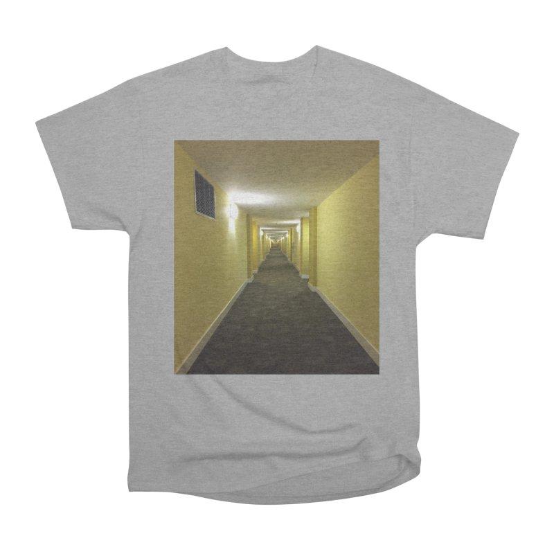 Hallway - What could happen? Women's Heavyweight Unisex T-Shirt by terryann's Artist Shop