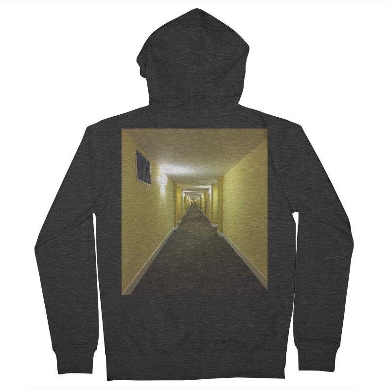 Hallway - What could happen? Women's Zip-Up Hoody by terryann's Artist Shop