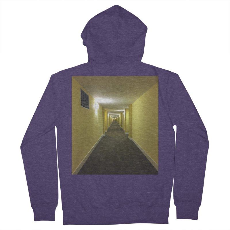 Hallway - What could happen? Men's Zip-Up Hoody by terryann's Artist Shop