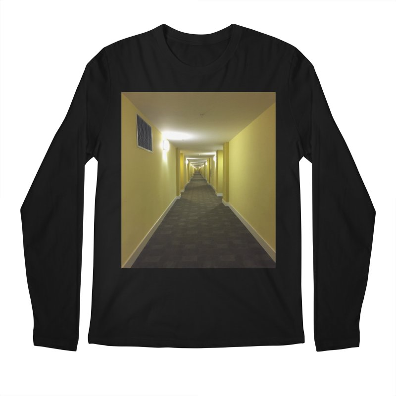 Hallway - What could happen? Men's Longsleeve T-Shirt by terryann's Artist Shop