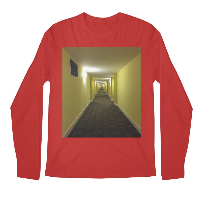 Hallway - What could happen? Men's Longsleeve T-Shirt by terryann's Artist Shop