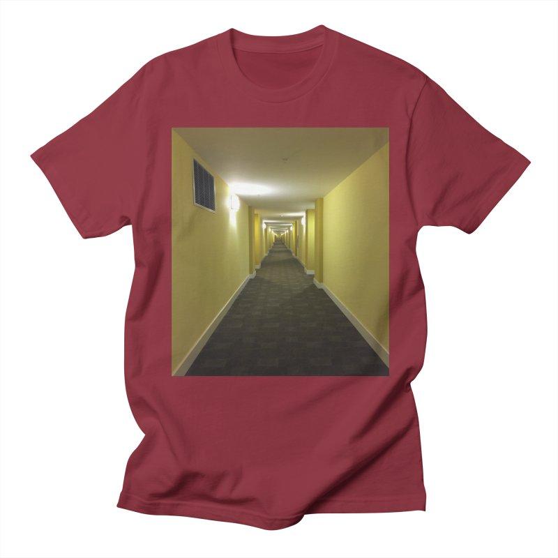 Hallway - What could happen? Women's Unisex T-Shirt by terryann's Artist Shop