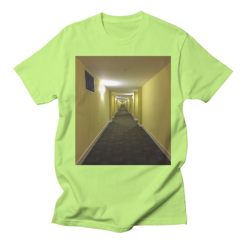 Hallway - What could happen? Women's Unisex T-Shirt by terryann's Artist Shop