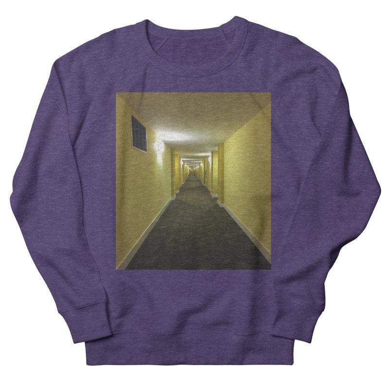 Hallway - What could happen? Men's Sweatshirt by terryann's Artist Shop