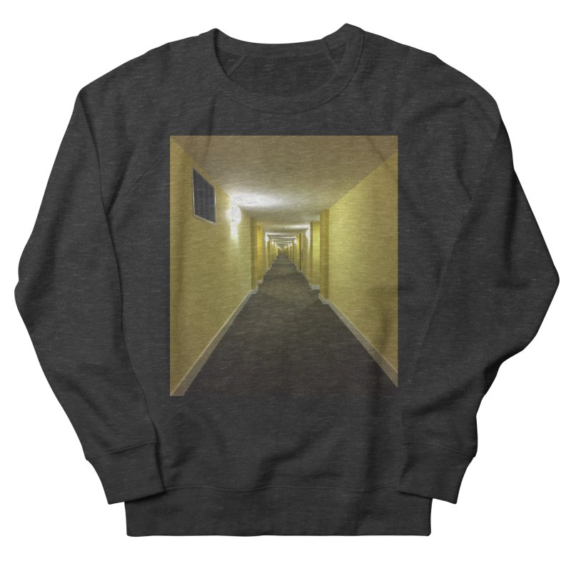 Hallway - What could happen? Men's Sweatshirt by terryann's Artist Shop
