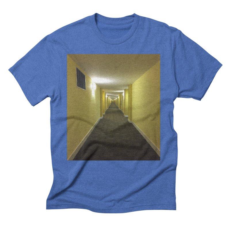 Hallway - What could happen? Men's Triblend T-Shirt by terryann's Artist Shop