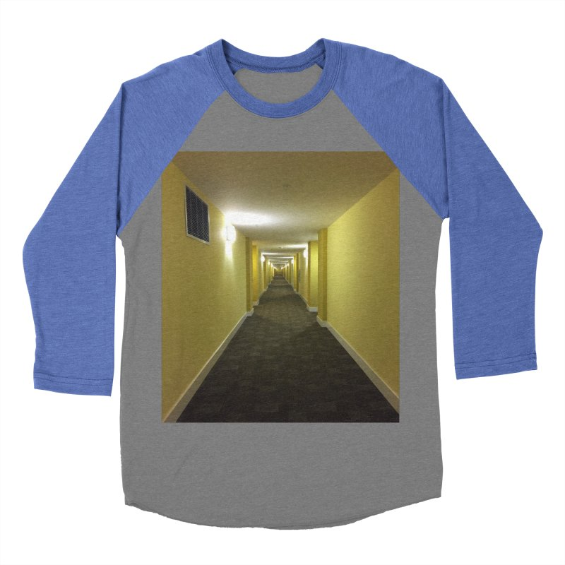 Hallway - What could happen? Women's Baseball Triblend T-Shirt by terryann's Artist Shop