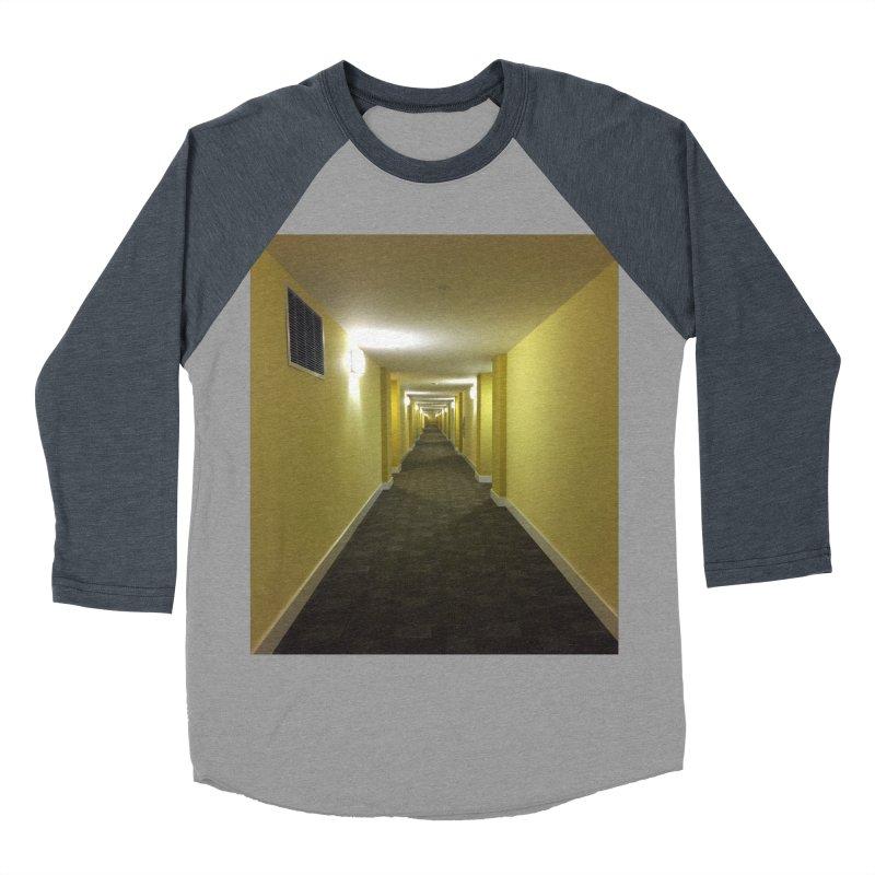 Hallway - What could happen? Women's Baseball Triblend T-Shirt by terryann's Artist Shop