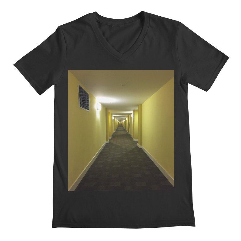 Hallway - What could happen? Men's V-Neck by terryann's Artist Shop
