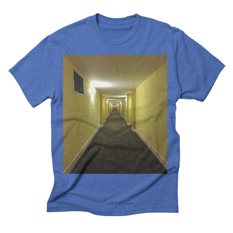 Hallway - What could happen? Men's Triblend T-shirt by terryann's Artist Shop