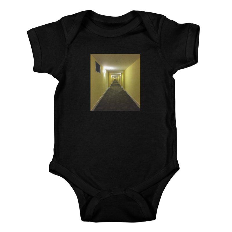 Hallway - What could happen? Kids Baby Bodysuit by terryann's Artist Shop
