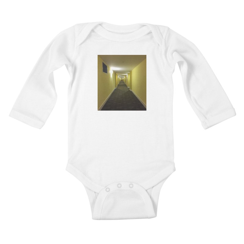 Hallway - What could happen? Kids Baby Longsleeve Bodysuit by terryann's Artist Shop