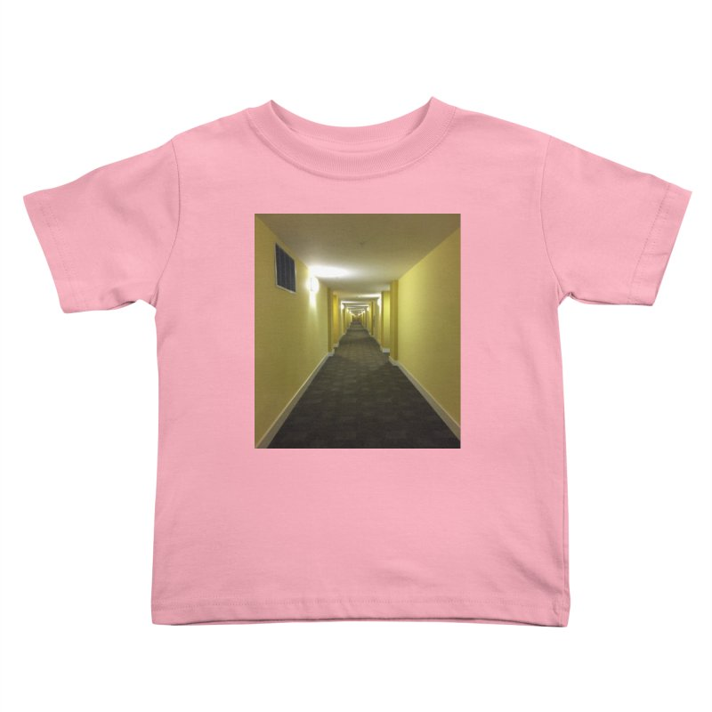 Hallway - What could happen? Kids Toddler T-Shirt by terryann's Artist Shop