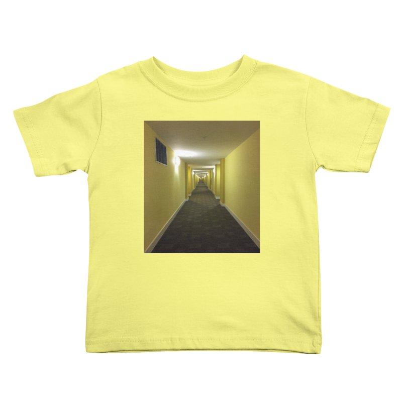 Hallway - What could happen? Kids Toddler T-Shirt by terryann's Artist Shop