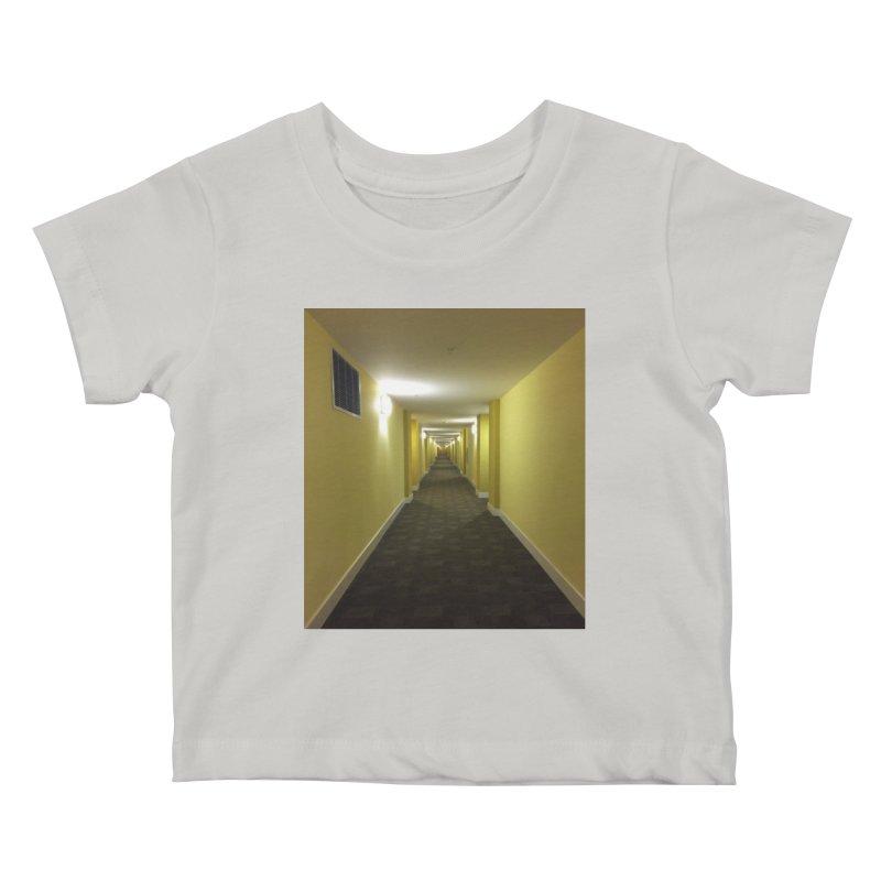 Hallway - What could happen? Kids Baby T-Shirt by terryann's Artist Shop