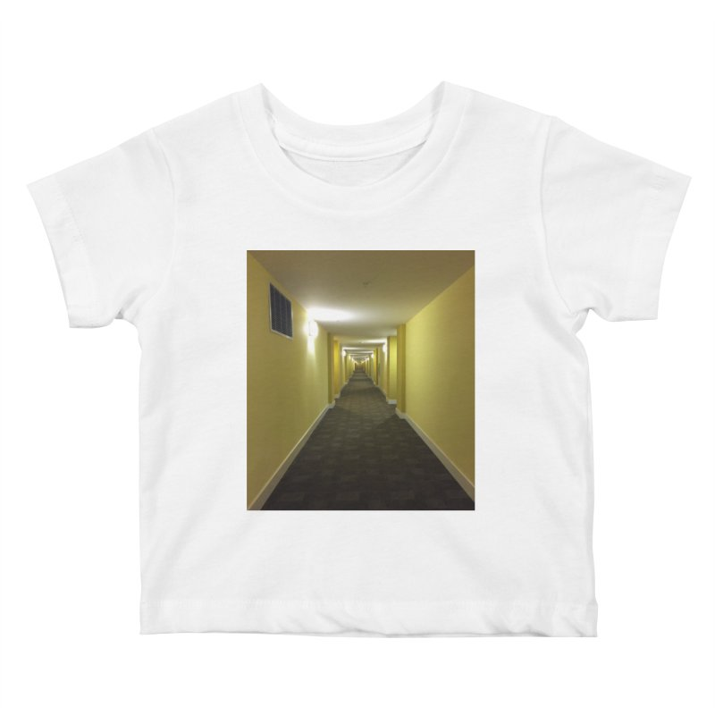Hallway - What could happen? Kids Baby T-Shirt by terryann's Artist Shop