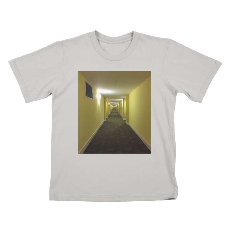 Hallway - What could happen? Kids T-shirt by terryann's Artist Shop