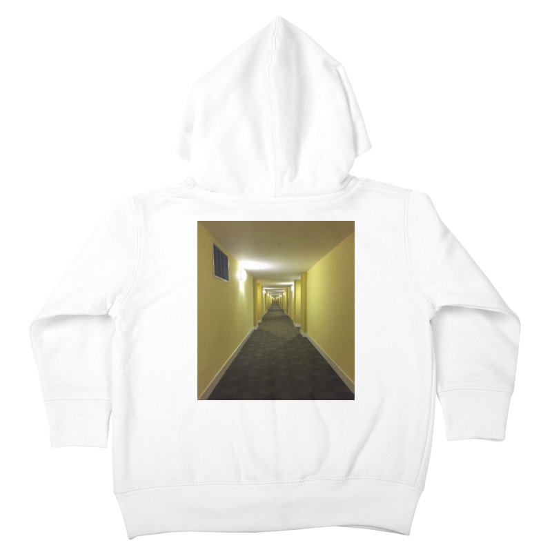 Hallway - What could happen? Kids Toddler Zip-Up Hoody by terryann's Artist Shop
