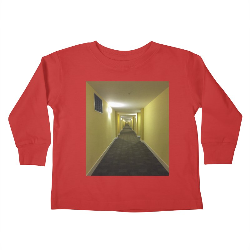 Hallway - What could happen? Kids Toddler Longsleeve T-Shirt by terryann's Artist Shop