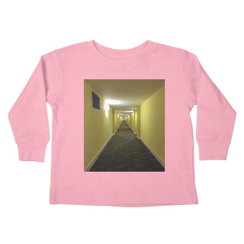 Hallway - What could happen? Kids Toddler Longsleeve T-Shirt by terryann's Artist Shop