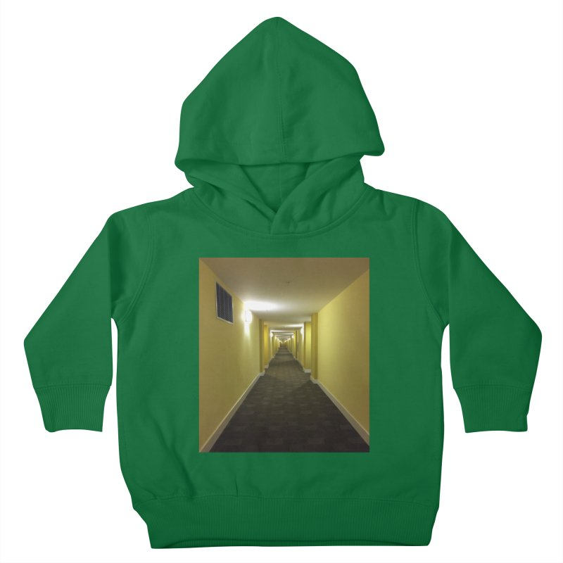Hallway - What could happen? Kids Toddler Pullover Hoody by terryann's Artist Shop