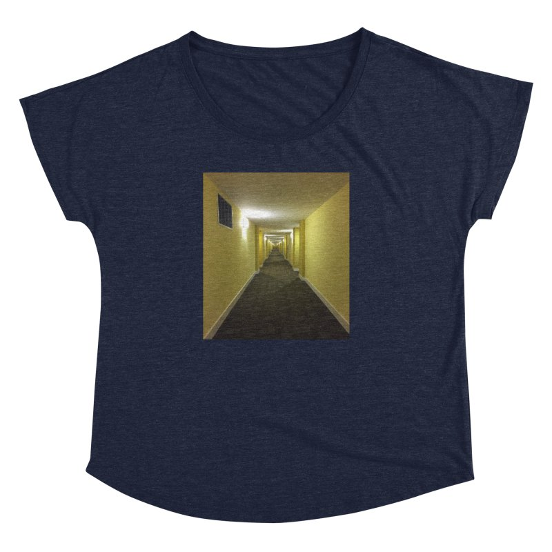 Hallway - What could happen? Women's Dolman by terryann's Artist Shop