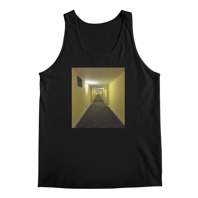 Hallway - What could happen? Men's Tank by terryann's Artist Shop