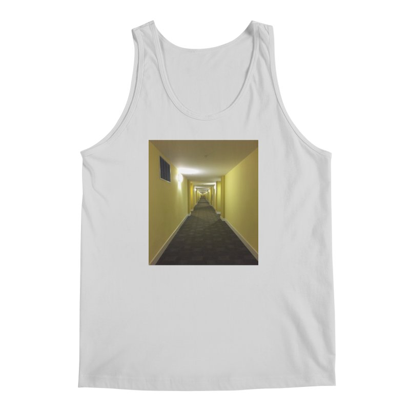 Hallway - What could happen? Men's Tank by terryann's Artist Shop