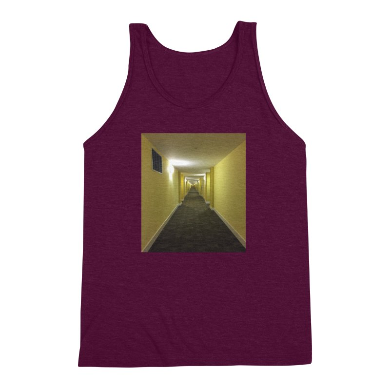 Hallway - What could happen? Men's Triblend Tank by terryann's Artist Shop