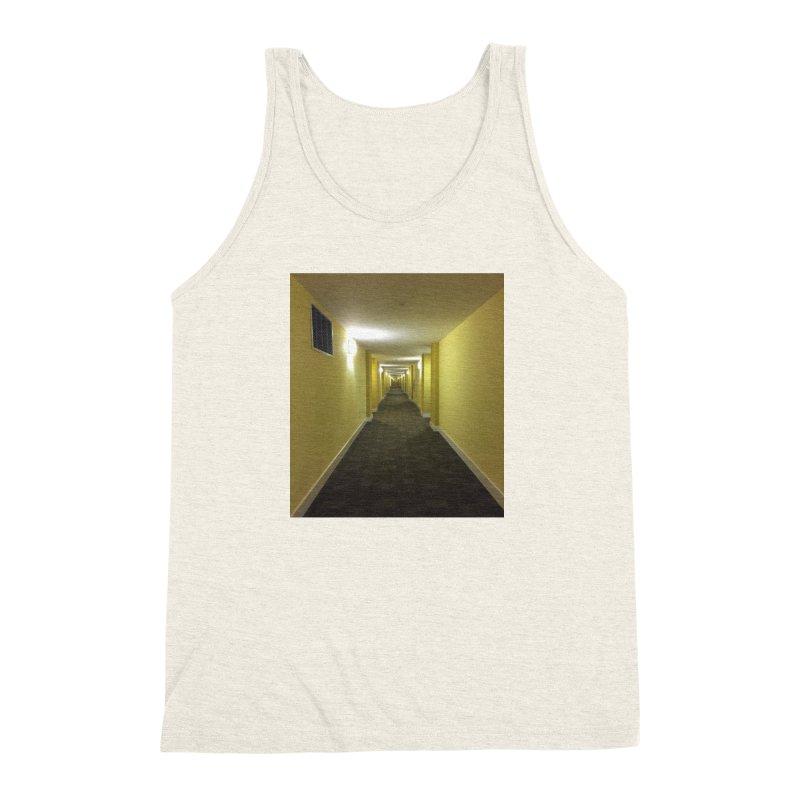 Hallway - What could happen? Men's Triblend Tank by terryann's Artist Shop