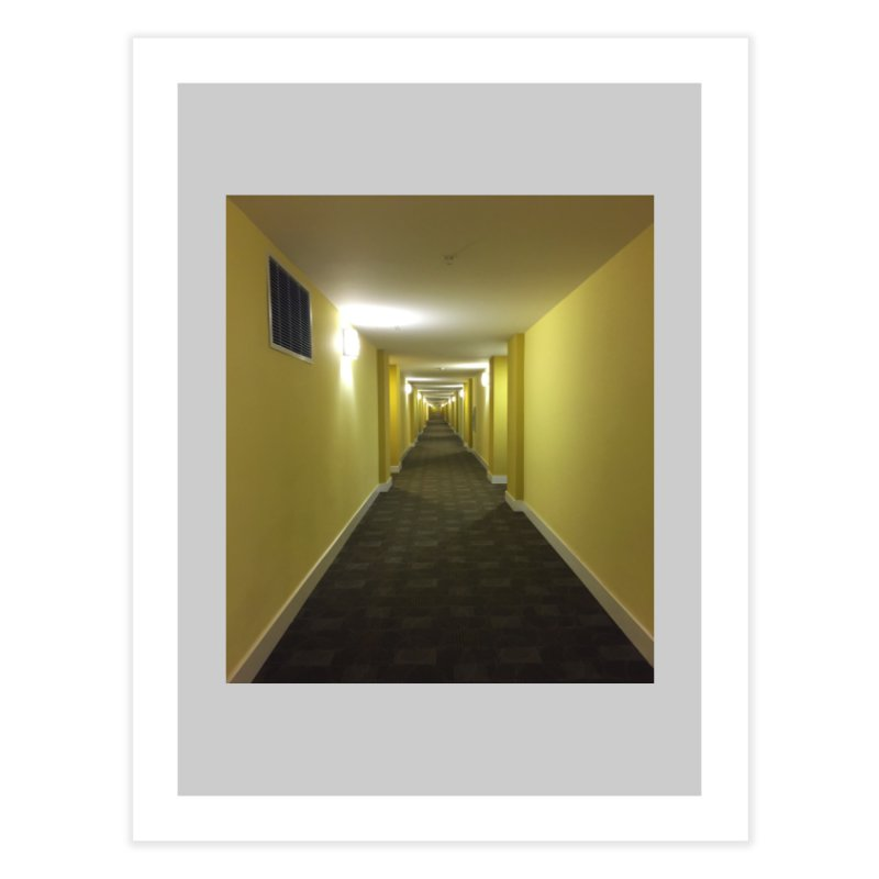 Hallway - What could happen? Home Fine Art Print by terryann's Artist Shop