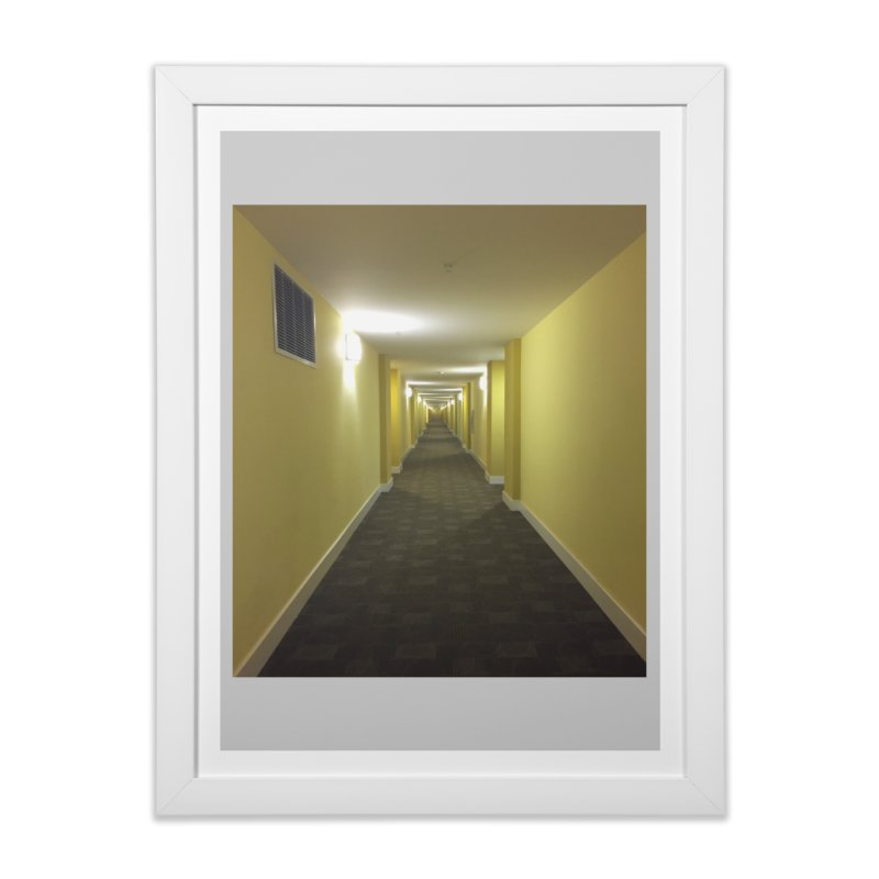 Hallway - What could happen? Home Framed Fine Art Print by terryann's Artist Shop