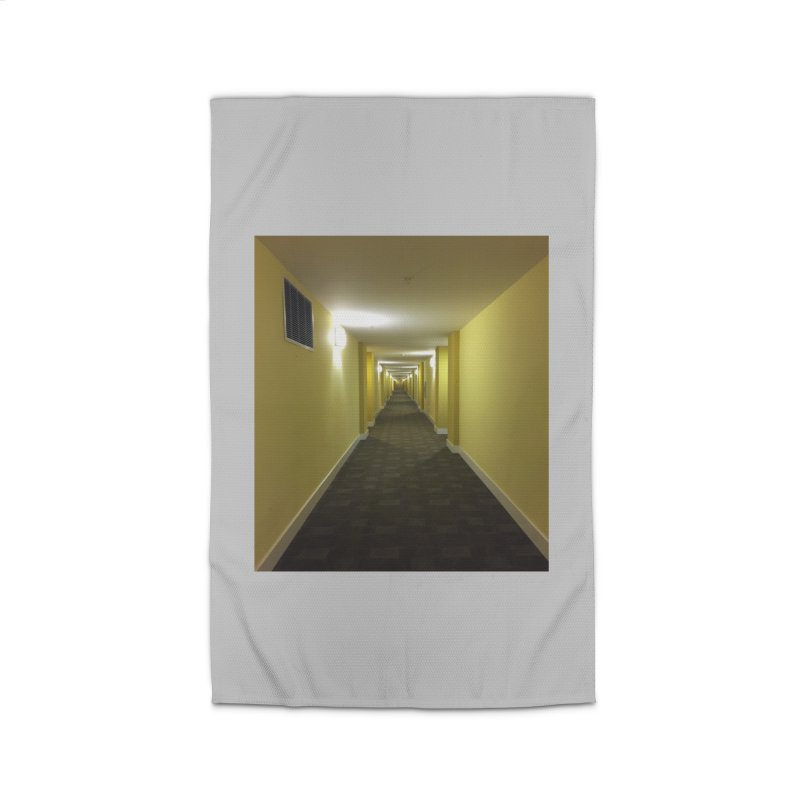 Hallway - What could happen? Home Rug by terryann's Artist Shop