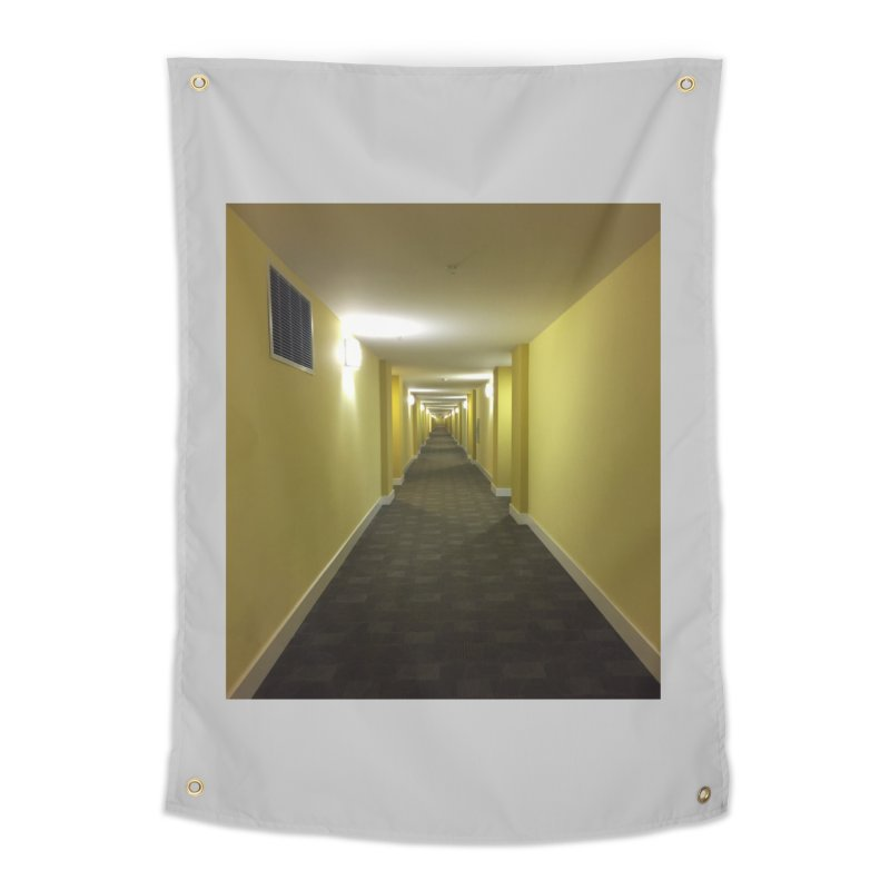 Hallway - What could happen? Home Tapestry by terryann's Artist Shop