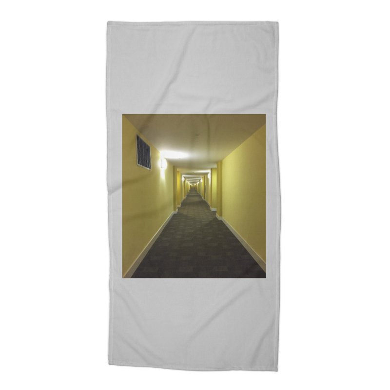 Hallway - What could happen? Accessories Beach Towel by terryann's Artist Shop