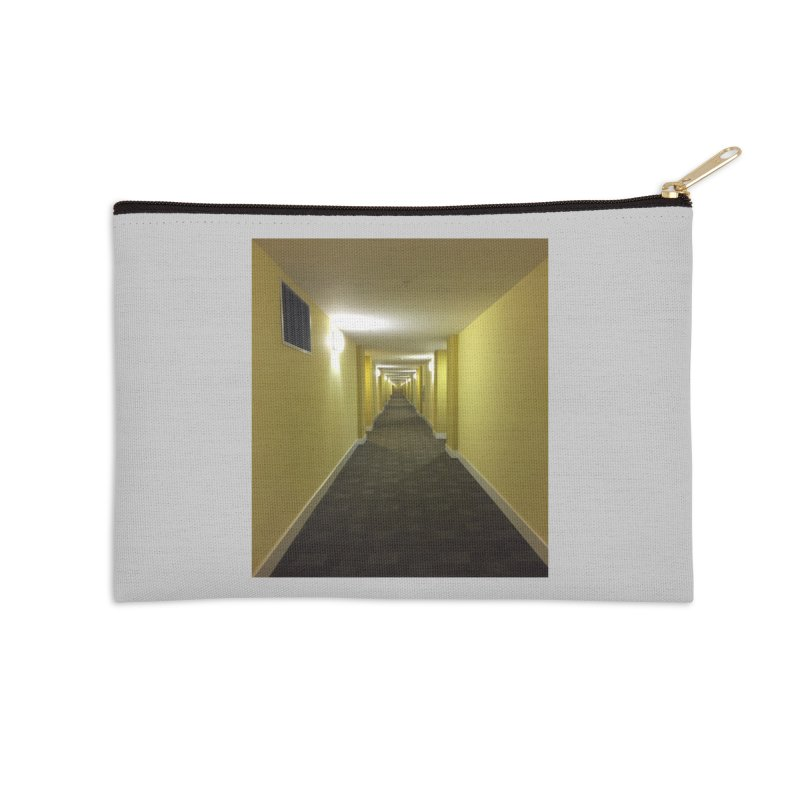 Hallway - What could happen? Accessories Zip Pouch by terryann's Artist Shop