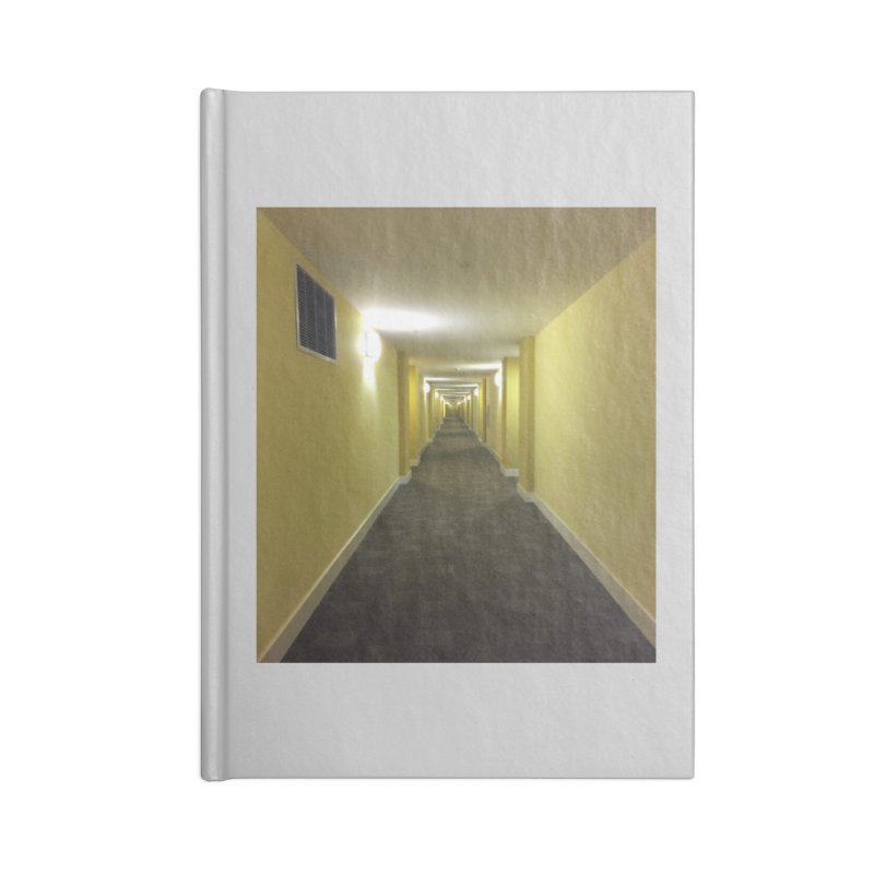 Hallway - What could happen? Accessories Notebook by terryann's Artist Shop