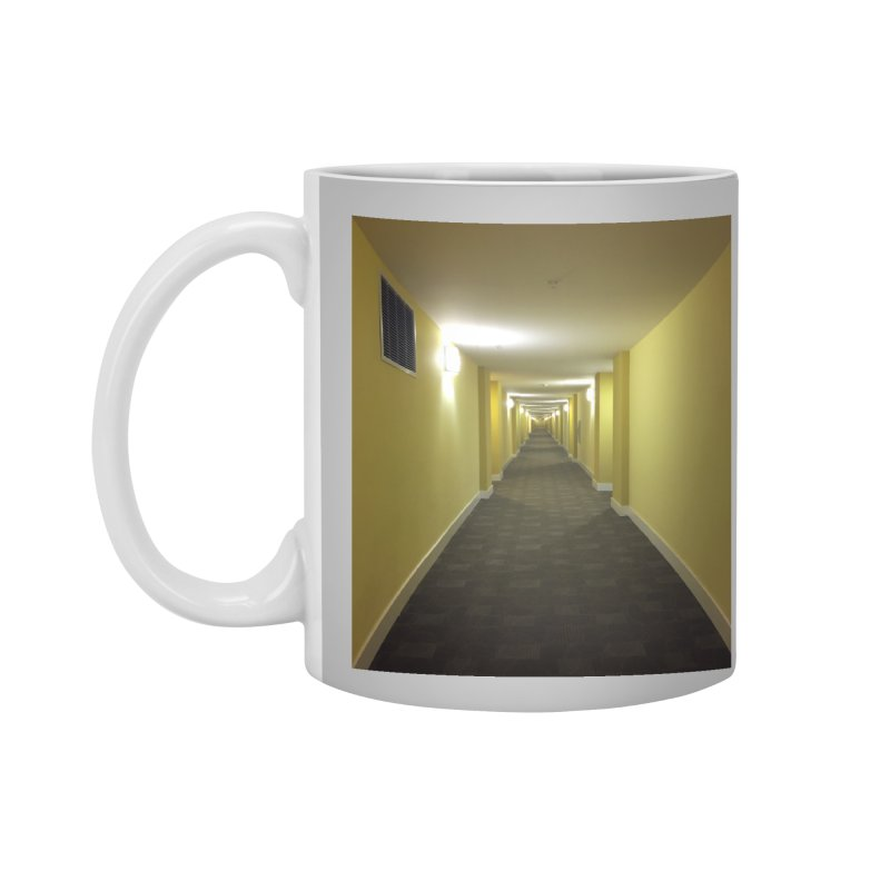 Hallway - What could happen? Accessories Mug by terryann's Artist Shop