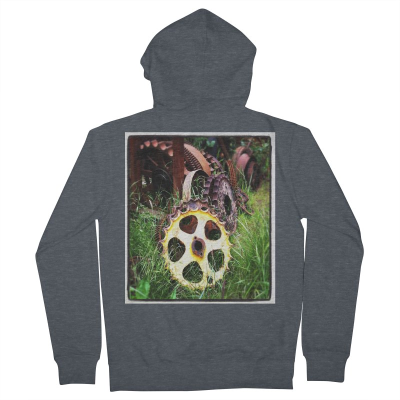 Sprockets and Gears for the Gear Head Women's Zip-Up Hoody by terryann's Artist Shop