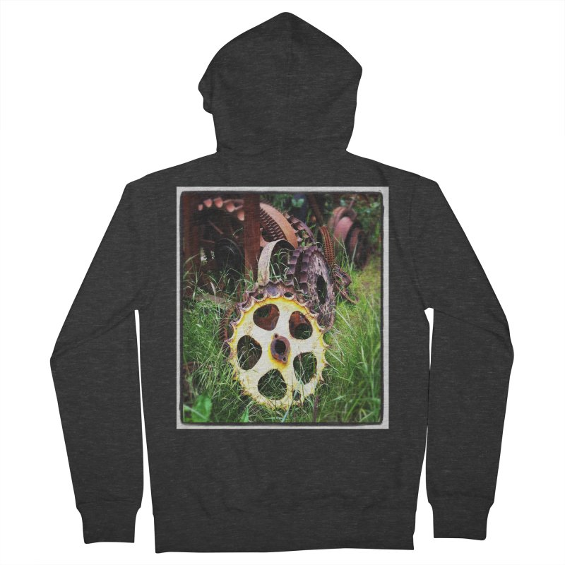 Sprockets and Gears for the Gear Head Men's Zip-Up Hoody by terryann's Artist Shop