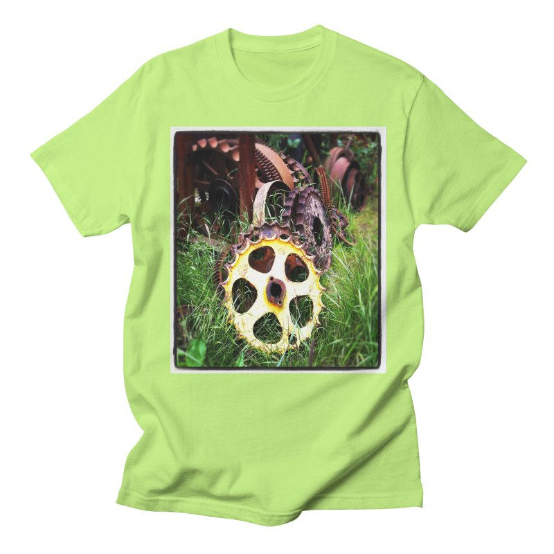 Sprockets and Gears for the Gear Head Men's T-Shirt by terryann's Artist Shop