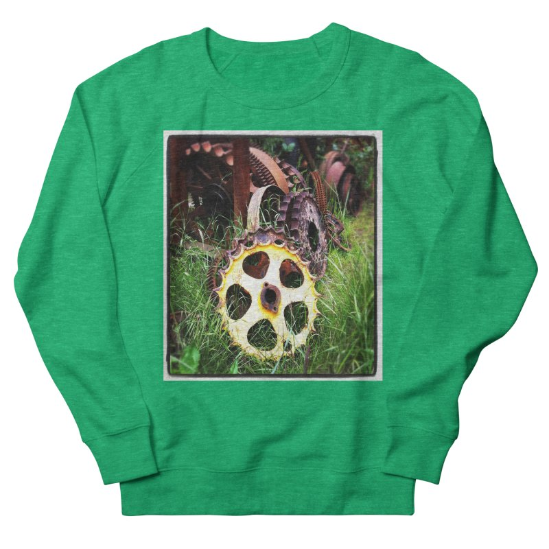 Sprockets and Gears for the Gear Head Men's Sweatshirt by terryann's Artist Shop