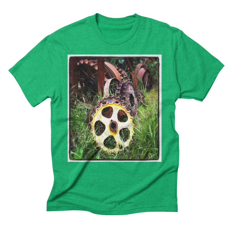 Sprockets and Gears for the Gear Head Men's Triblend T-Shirt by terryann's Artist Shop
