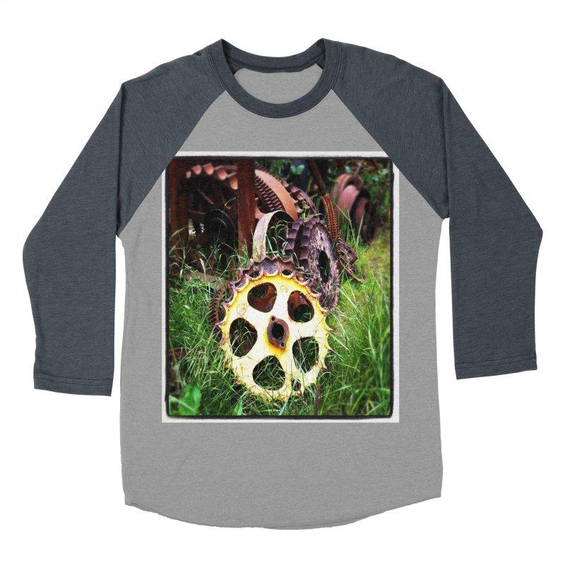 Sprockets and Gears for the Gear Head Women's Baseball Triblend T-Shirt by terryann's Artist Shop