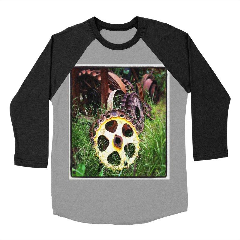 Sprockets and Gears for the Gear Head Men's Baseball Triblend T-Shirt by terryann's Artist Shop