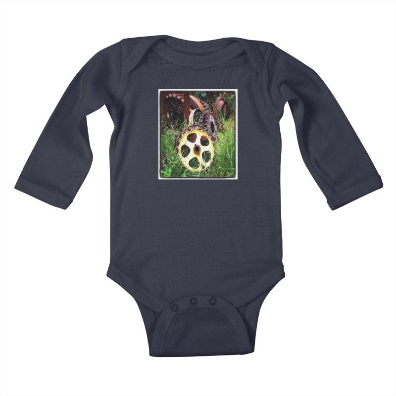 Sprockets and Gears for the Gear Head Kids Baby Longsleeve Bodysuit by terryann's Artist Shop