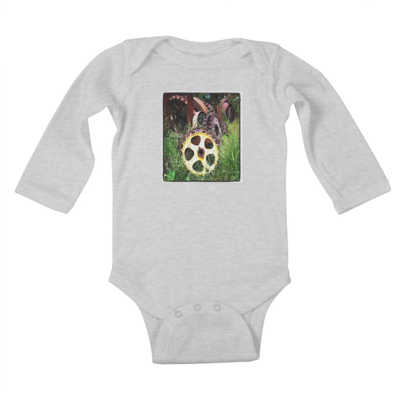 Sprockets and Gears for the Gear Head Kids Baby Longsleeve Bodysuit by terryann's Artist Shop