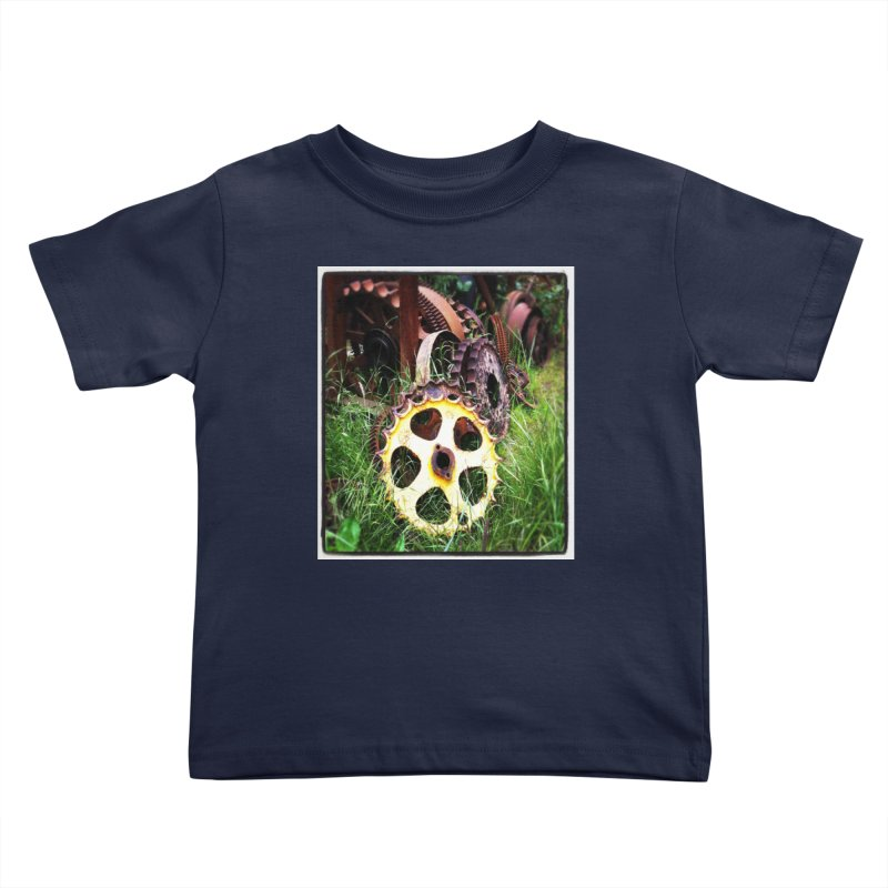 Sprockets and Gears for the Gear Head Kids Toddler T-Shirt by terryann's Artist Shop