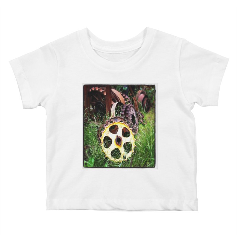 Sprockets and Gears for the Gear Head Kids Baby T-Shirt by terryann's Artist Shop