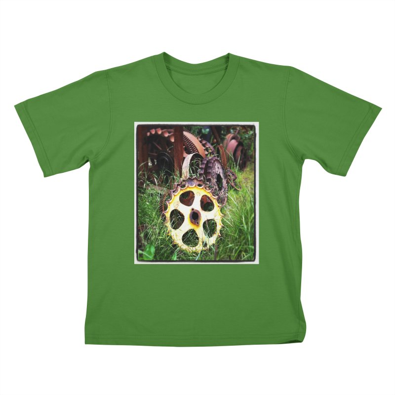 Sprockets and Gears for the Gear Head Kids T-Shirt by terryann's Artist Shop